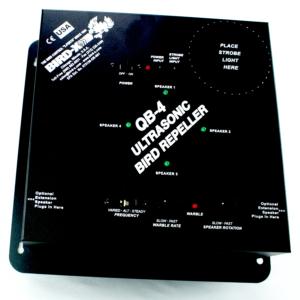 quad-blaster-qb4-control-panel