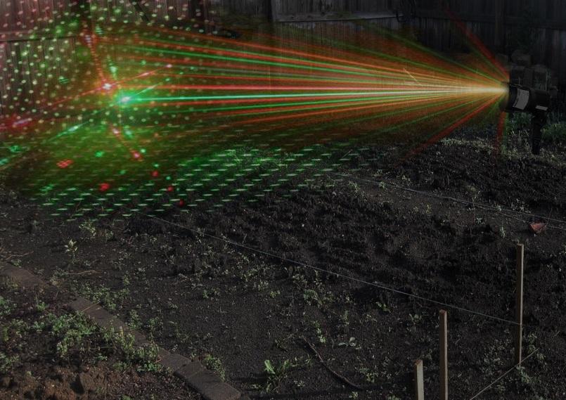 Laser Bird Control Outdoor Green Laser Bird Scarer Bird