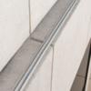 bird shock track system on ledge - beige